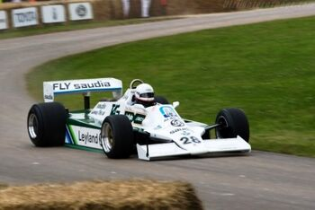 Williams FW07B Cosworth, Chassis FW07B07 at the 2008 Goodwood Festival of Speed WM