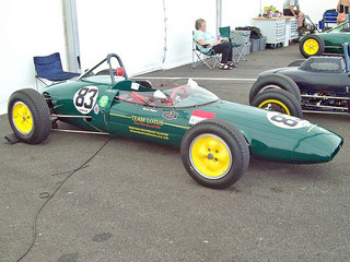 Lotus 22 (1962) Engine 1098cc, at the 2010 Silverstone Classic RK