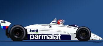 Brabham BT51, 1982-83, Nelson Piquet, by Wiki