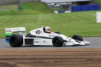 Williams FW06 Cosworth, Chassis FW0602, at the 2005 Silverstone Classic WM - Copy - Copy