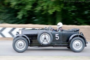 Bugatti Type 50S Le-Mans, Chassis 50177, at the 2009 Goodwood Festival of Speed, WM