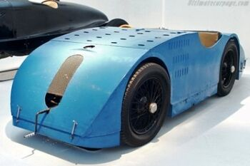 Bugatti Type-32 - Tank, at the Musee National de l'Automobile