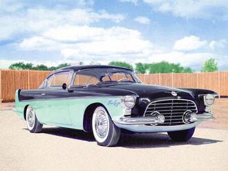 Chrysler flight sweep ii concept car
