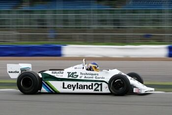 Williams FW07C Cosworth, Chassis FW07C15, at the 2005 Silverstone Classic, WM