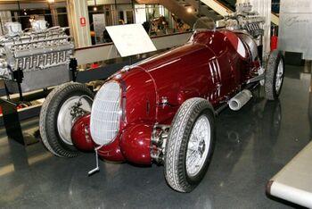 Alfa Romeo 12C-36, at the Alfa Romeo Museo Storico WM