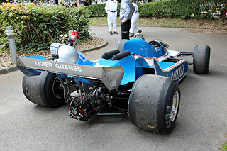 Ligier Cosworth JS11-15 (1980), Engine 3000cc V8 Ford Cosworth DFV at the 2011 Goodwood Festival of Speed RK