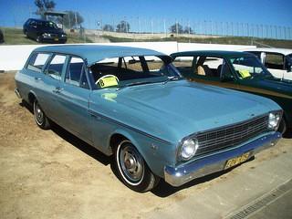 1966 Ford XR Falcon 500 station wagon. at 2010 Shannon's Eastern Creek Classic, Sydney. PM