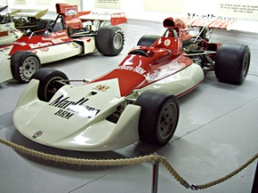 BRM P180 at the 2012 Donington Collection. RK