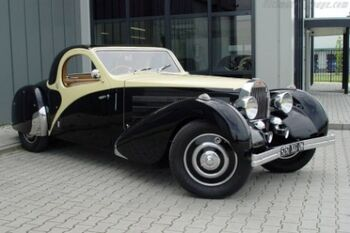 Bugatti Type 57 Atalante Chassis 57432 Roll Back Coupe