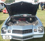 Chevy Camaro engine bay