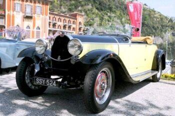 Bugatti Type 46 Ottin Roadster, Chassis 46501, at the 2006 Concorso d'Eleganza Villa d'Este, WM