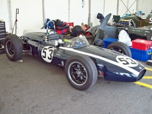 Cooper Climax T53 at the 2010 Silverstone Classic RK 1