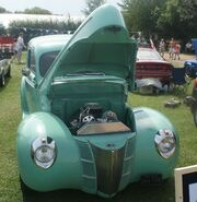 1940 Ford green