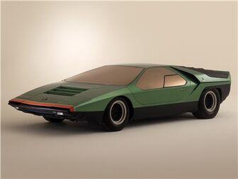 1968 Bertone Alfa-Romeo Carabo Studio-Shot 04