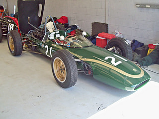 Lotus 21 (1961) Engine 1498cc Coventry Climax at the 2013 VSCC Spring Start, Silverstone, RK