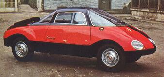 Abarth 750 Coupe Goccia