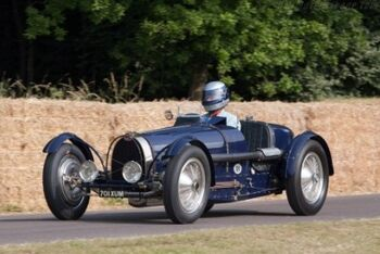 Bugatti Type-59 Grand Prix. Chassis 59121. 2013 Goodwood Festival of Speed