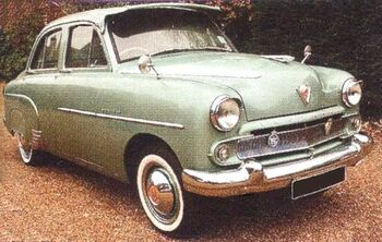 1956 Vauxhall Wyvern - London