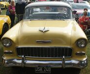 Chevy Bel air front