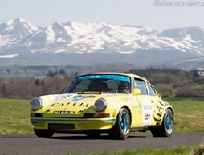 Porsche 911 Carrera RSR 2.8, Chassis 911 360 0643, at the 2013 Tour Auto, WM