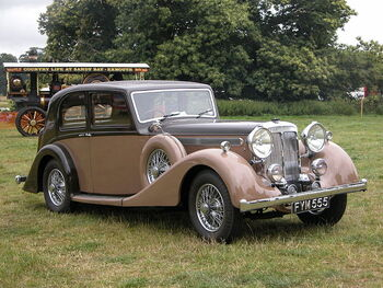 1939 Daimler 4litre Light Straight Eight Saloon