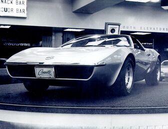 1969 Chevrolet Corvette XP-882 Concept 02