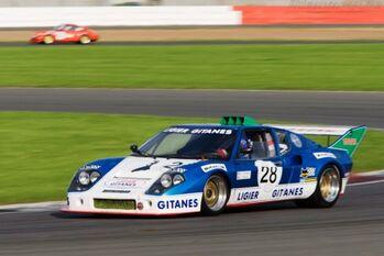 Ligier-JS2-Cosworth Chassis 2379 72 03 - 2008 Le Mans Series Silverstone 1000 km WM