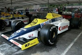 Williams FW10B Honda at the 2002 Goodwood Festival of Speed WM