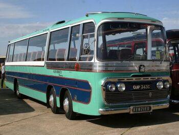 Bedford VAL 14 six wheel, twin steer coach, Wikipedia