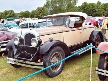 1928 Chrysler Imperial Roadster