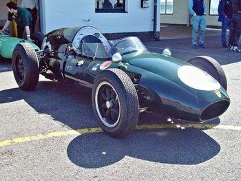 Cooper T45 (1958) Engine 1960cc at the 2013 VSCC Spring Start, Silverstone, RK