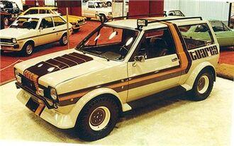 Ford Fiesta Tuareg