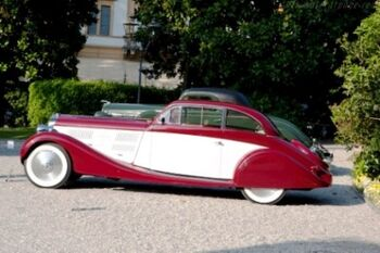 Delage D8 105 S-Coupe, Chassis 40123, at the 2011 Concorso d'Eleganza Villa d'Este, WM - Copy
