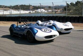 Chaparral 1-Chevrolet Chassis 001 & 002 - 2005 Monterey Historic Automobile Races