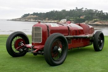 Alfa Romeo P2, Chassis 0003, at the 2005 Pebble Beach Concours d'Elegance, WM