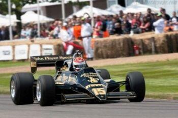 Lotus 92 Cosworth, 2012 Goodwood Festival of Speed, WM
