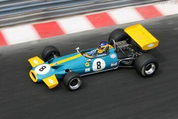 Brabham BT33 Cosworth. Chassis BT33-1. at the 2006 Monaco Historic Grand Prix