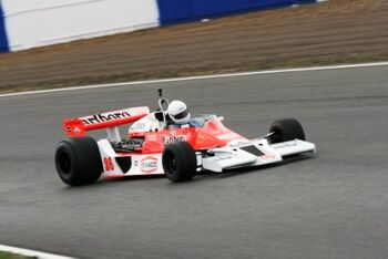 McLaren M26 Cosworth, Chassis M26-1 at the 2006 Silverstone Classic WM