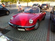 Alfa Romeo at Supermarket
