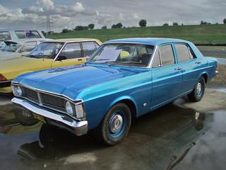 1971 Ford XY Falcon sedan. at the 2009 NSW All Ford, Eastern Creek Raceway, Sydney. PM