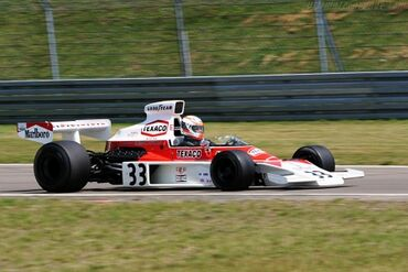 McLaren M23 Cosworth, Chassis M23-4 at the 2004 Old Timer Grand Prix, WM