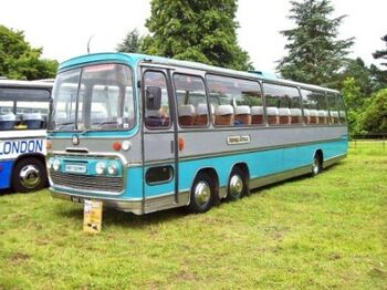 Bedford VAL 70 six wheeled coach