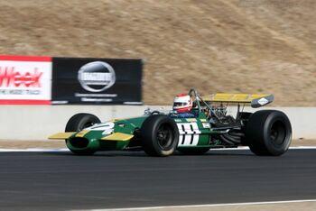Brabham BT26 Cosworth. Chassis BT26-3 2006 Monterey Historic Automobile Races. jpg