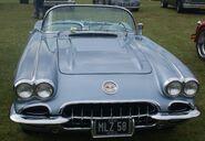 Corvette 57 front