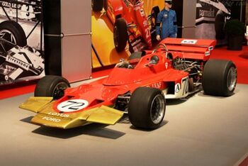 Lotus 72 - Cosworth, Chassis R4, at the 2007 Essen Motor Show, WM