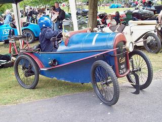 Carden Sports (1921) Engine 707cc V twin, at the 2010 VSCC Prescott, RK