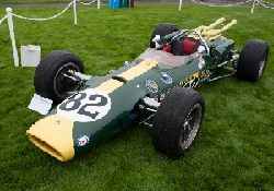 Lotus 38 Ford, Chassis 381, at the 2010 Pebble Beach Concours d'Elegance, WM