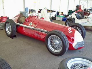 Alfa Romeo 158 Alfetta (1948) at the 2010 Silverstone Festival RK