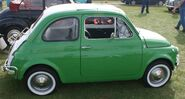 Fiat 500 side view