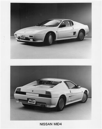 1985 Nissan MID-4 concept 04